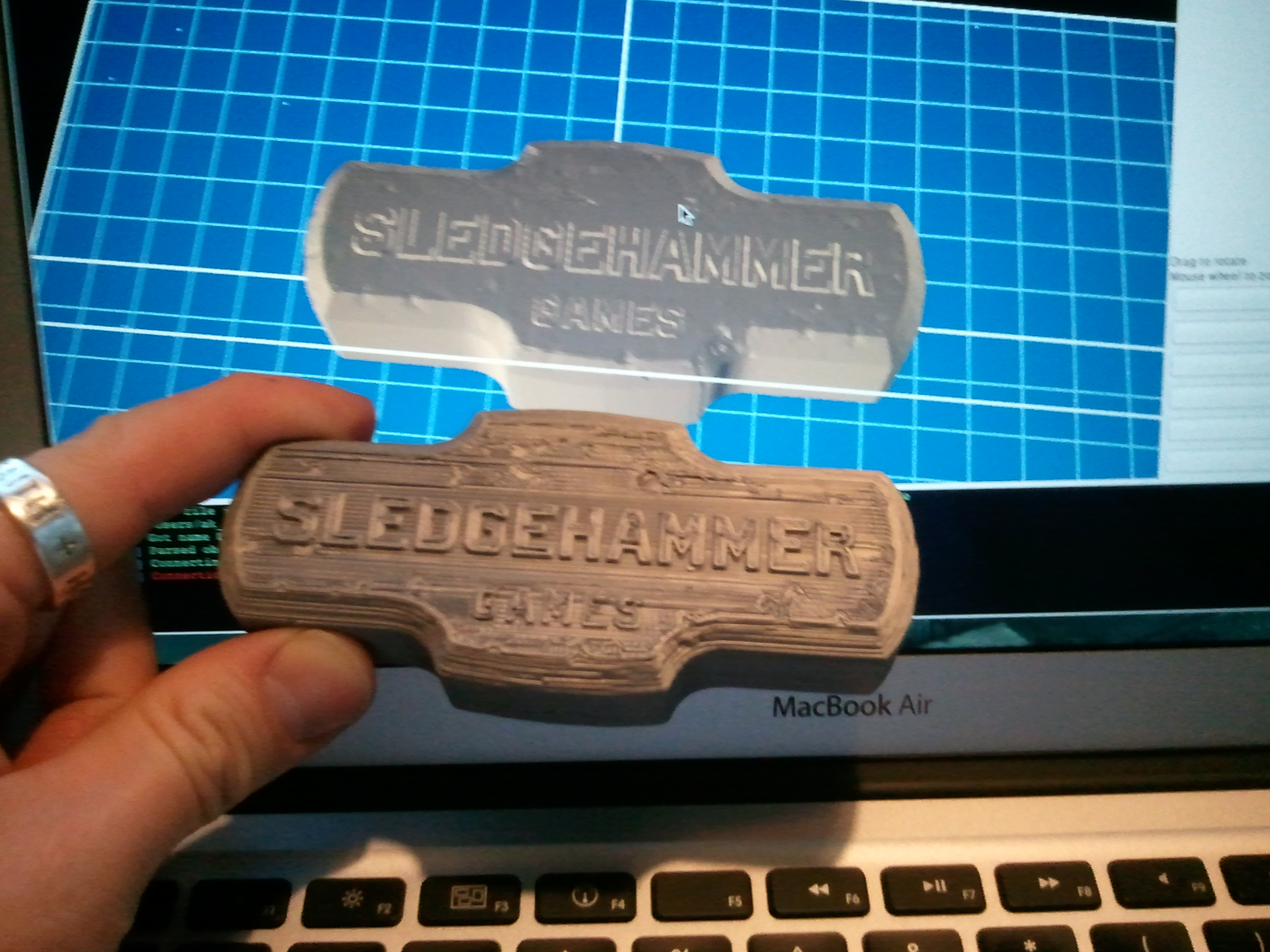 New print: Mini-Sledgehammer | AK Eric