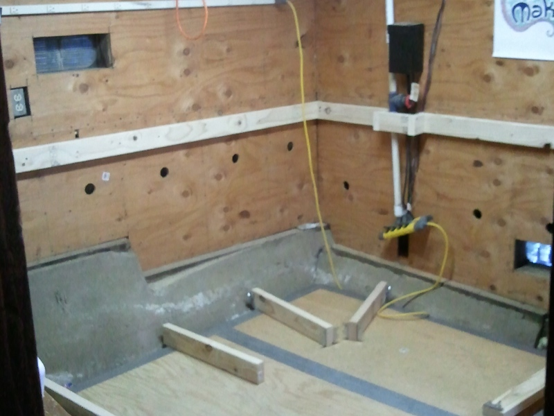 Man Cave Bench Ideas : Weekend project man cave workbench ak eric