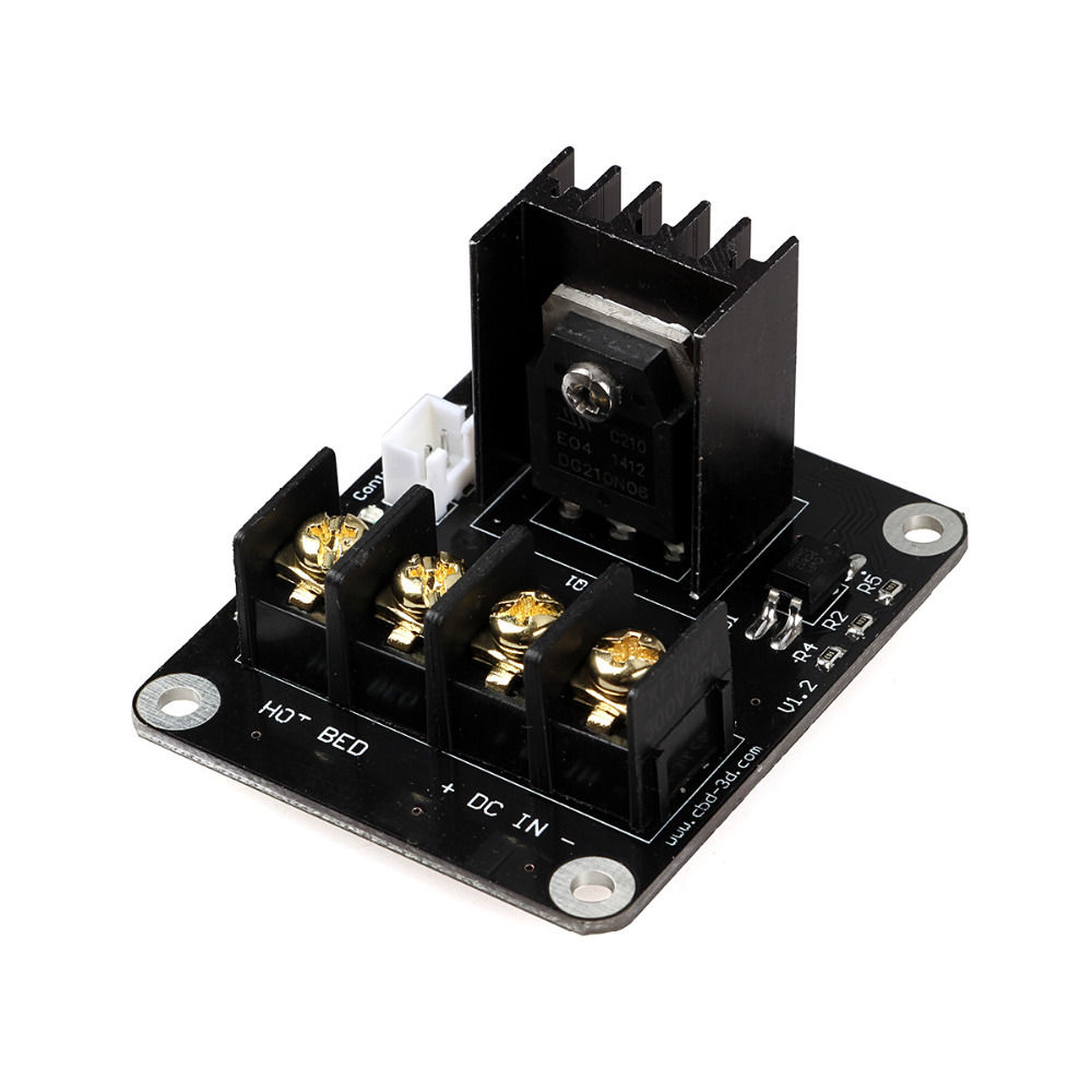 Active Components 3d Printer Parts General Add-on Heated Bed Power Expansion Module Board High Power Module Expansion Board For 3d Printer Bringing More Convenience To The People In Their Daily Life