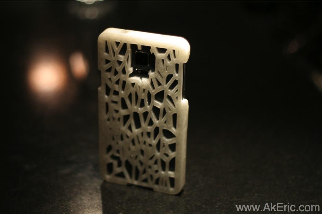 Designing a 3d printed smartphone case | AK Eric
